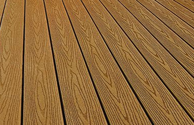 Composite decking for a vaughan deck project